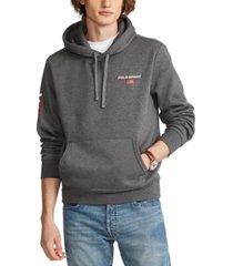 polo ralph lauren men's big & tall polo sport fleece hoodie