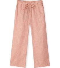 monochrome tanja pants pyjamasbyxor mjukisbyxor rosa juna