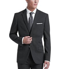 ben sherman charcoal extreme slim fit suit