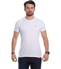 camiseta javali branca rose - kanui