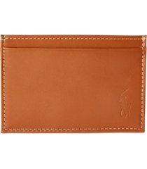 polo ralph lauren men's burnished leather slim card case