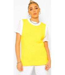 basketbal tank top, yellow