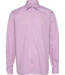contemporary fit business casual twill shirt overhemd business roze eton