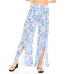 pantalon mujer azul maui and sons