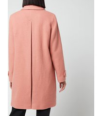 a.p.c. women's suzanne coat - old pink - fr 42/uk 12