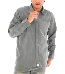 camisa corduroy gris rockford