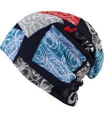 berretto beanie caoldo e colorato di stile hip-hop e casual a multifunzione sciarpe sciolto e bonnet