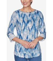 ruby rd. women's missy ikat pullover