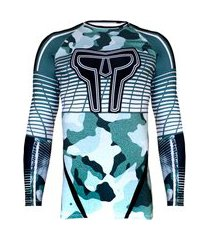 rash guard masculina stripes army