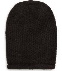 women's free people dreamland knit beanie - black