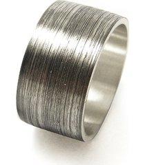 srebrna matowa obrączka, srebro 925