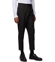 boss men's phil relaxed-fit cropped trousers