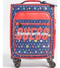 mini walizka na kółkach z logo
