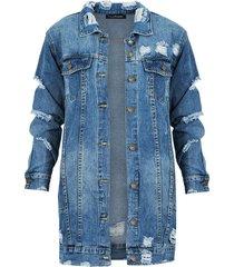 long denim jacket 2.0