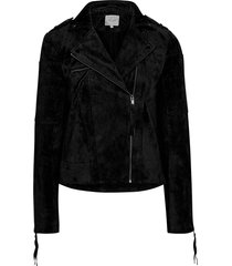 mockajacka vicris suede jacket