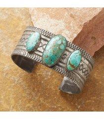 1950s nevada turquoise cuff bracelet