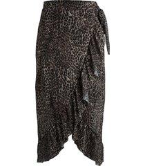 rok luipaardprint