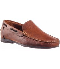 zapato mocasín casual para hombre san polos 2010 color miel