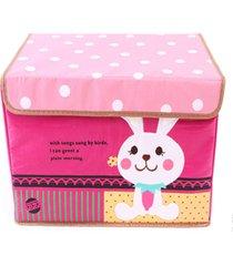 la versión coreana de tela oxford de dibujos animados multicolor toy box caja de almacenamiento