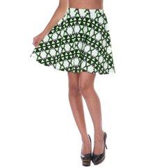 white mark women's triangles heidi skirt