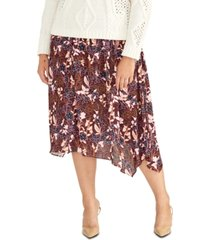 rachel rachel roy trendy plus size printed a-line skirt
