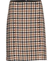 skirt short woven fa kort kjol beige gerry weber