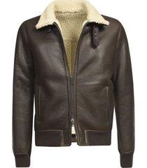 belted neck zip jacket