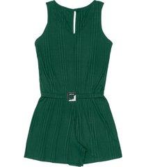 macaquinho canelado feminino rovitex verde - verde - feminino - dafiti