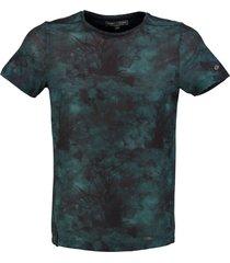 cast iron zacht slim fit shirt polyester