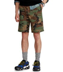 polo ralph lauren men's 10-inch relaxed fit camo chino shorts