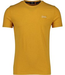 geel t-shirt superdry vintage