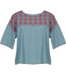 current/elliott denim shirts