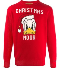 donald duck red mans sweater - disney® special edition