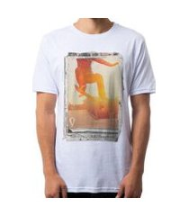 camiseta omg sunset skate board masculina