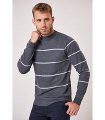 sweater gris el genovés palermo