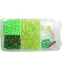kit mini bijuteria kits for kids multicolorido