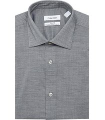 steel regular-fit non-iron dobby dot stretch dress shirt