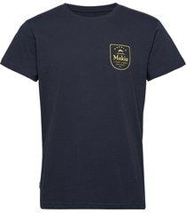 angler t-shirt t-shirts short-sleeved blå makia