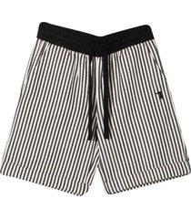 trussardi striped shorts
