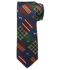 1905 collection country lodge patchwork tie clearance