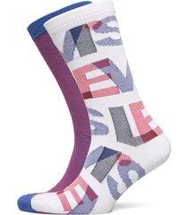 levis regular cut letter overlap 2p underwear socks regular socks vit levi´s