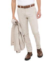 pantalon clásico beige lec lee