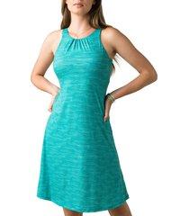women's prana skypath a-line dress, size small - green
