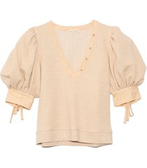 bess pullover in oatmeal