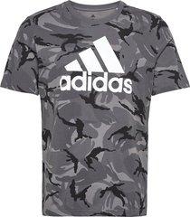 m camo aop t t-shirts short-sleeved grå adidas performance