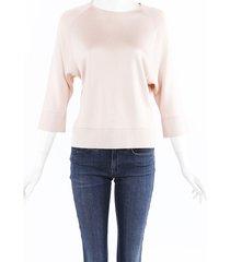 lanvin knit sweater pink sz: s