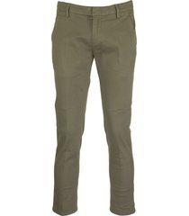 dondup alfredo olive pant trouser