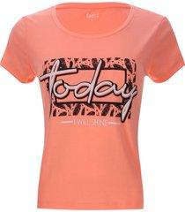 camiseta descanso today color rosado, talla l