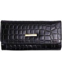 carteira feminina zariff em couro legítimo
