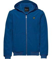 softshell jacket tunn jacka blå lyle & scott